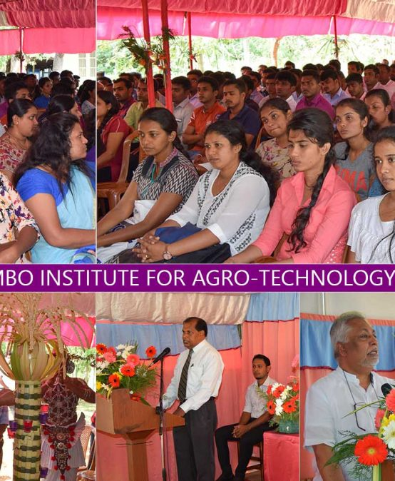Inauguration Ceremony of the Bachelor of Technology 2017/2018-9th Intake