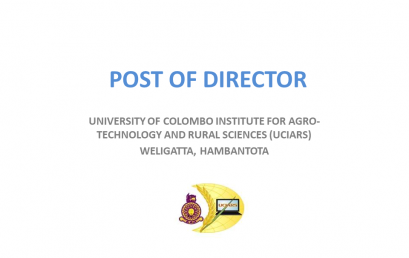 POST OF DIRECTOR