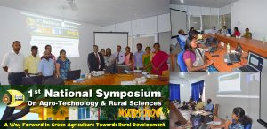 1st National Symposium on Agro-Technology and Rural Sciences (NSATRS) 2020 Virtual Symposium