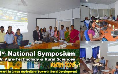 Virtual National Symposium on Agro Technology and Rural Sciences (NSATRS) – 2020