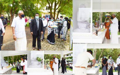 Visit of Hon. Minister Chamal Rajapaksa to UCIARS on 01.01.2021